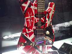 Eddie Van Halen guitar by Incase