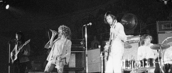 The Who in 1971 in North Carolina, USA